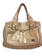 Tan Top Handle Bag
