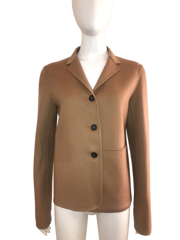 Cashmere 3-Button Coat