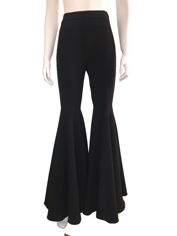 Black Bell Bottom High Waisted Pants
