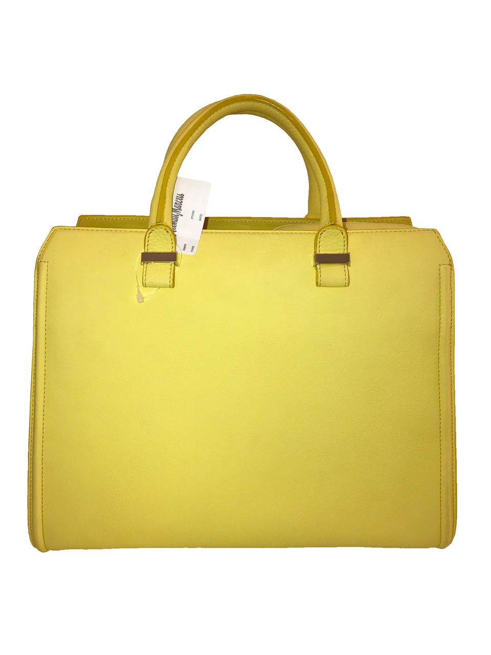 Yellow Soft Doctor's Bowler Bag