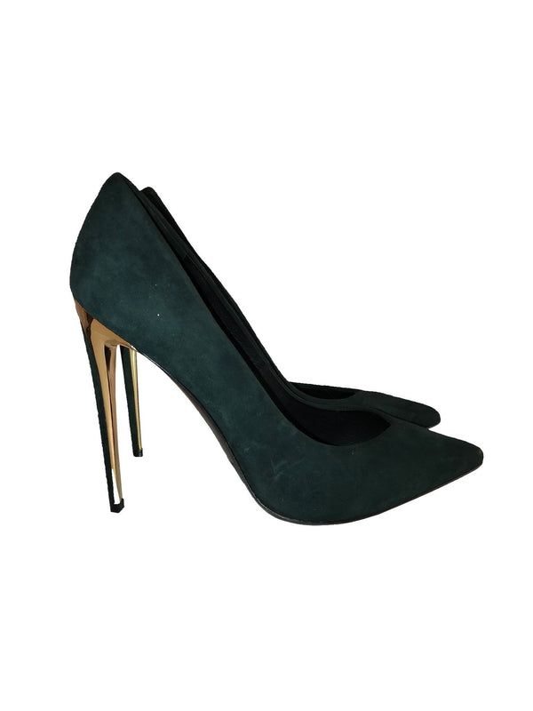 Rachel Zoe Green Pointed Toe Pump