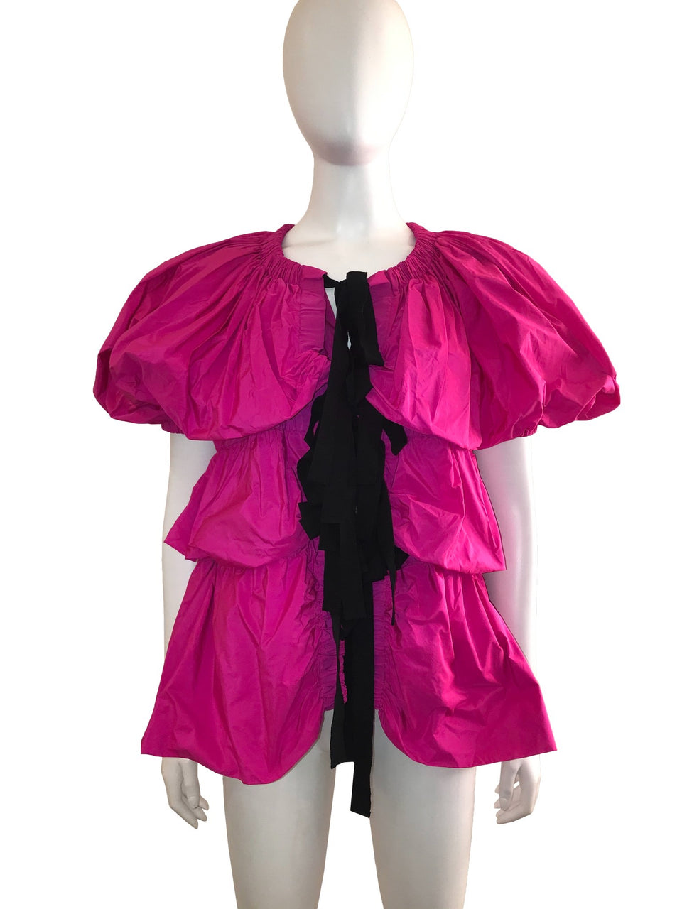 Balloon Style Top with Bow Front
