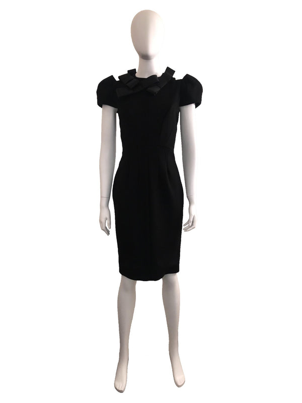 Roksanda Black Bow Dress