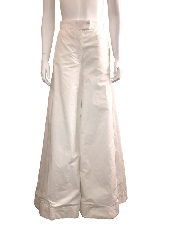 Exaggerated Wide Leg Cuffed Pant