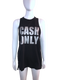 'Cash Only' Tank
