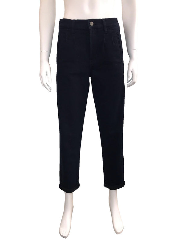 High Waited Cropped Indigo Trouser Jeans