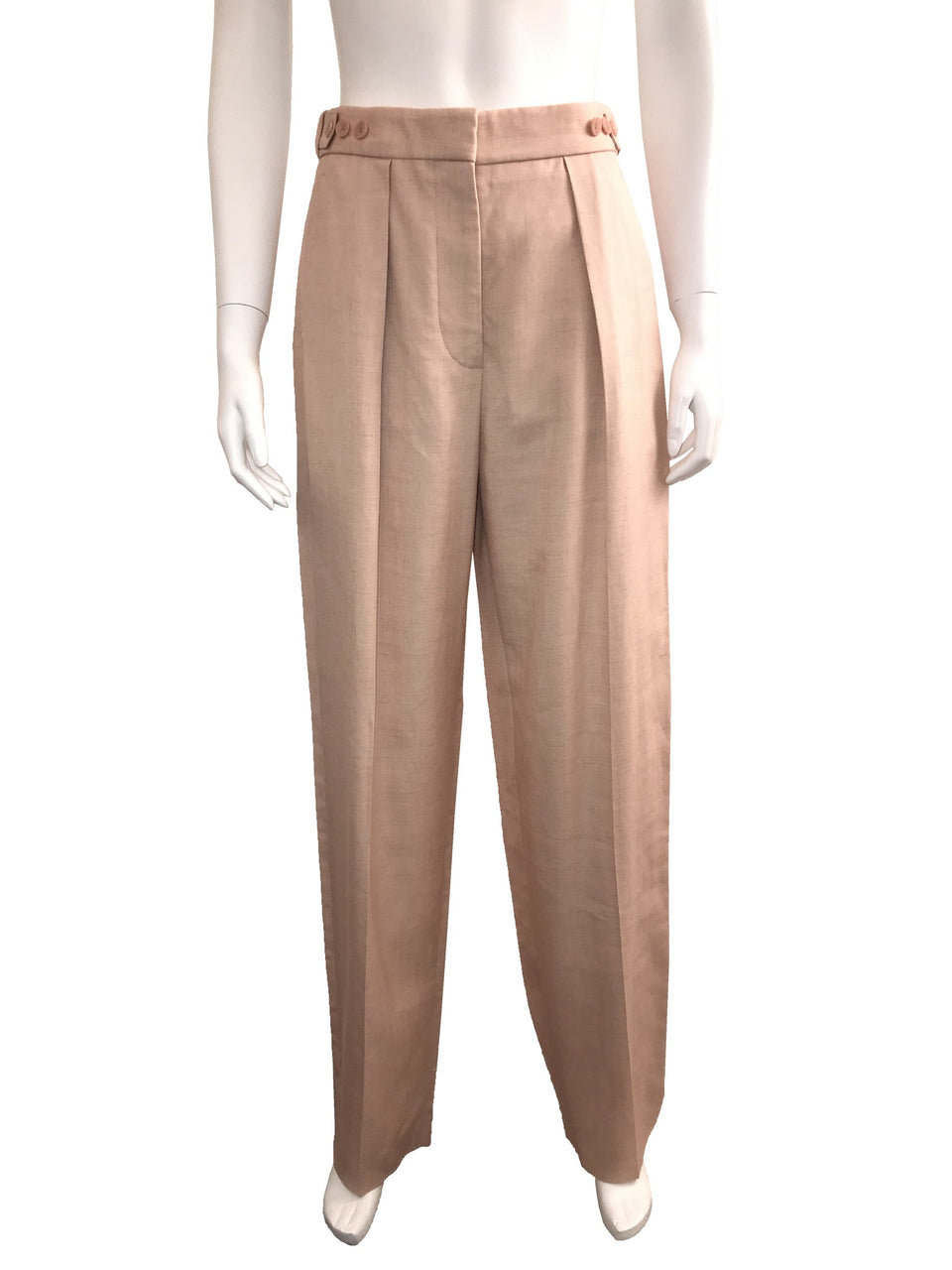 Pleated High Waisted Pant