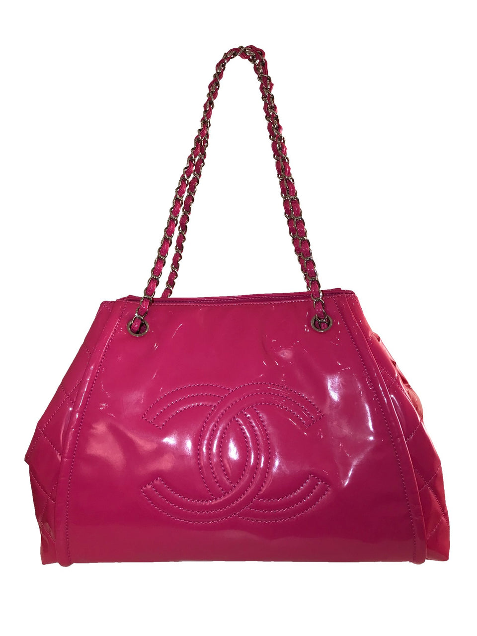 Pink Patent Leather CC Bag