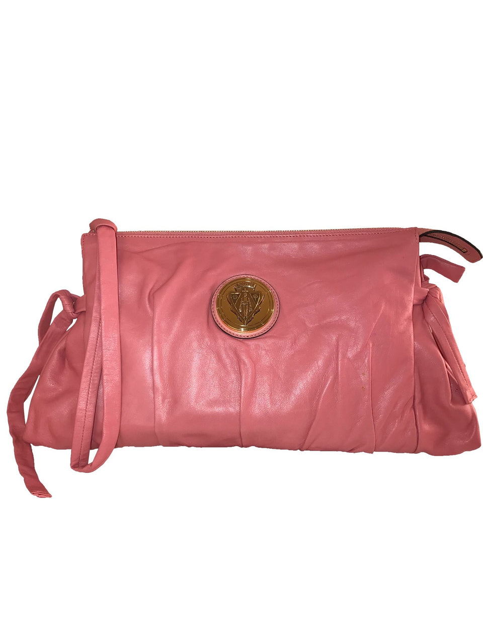 Pink Leather Hysteria Clutch