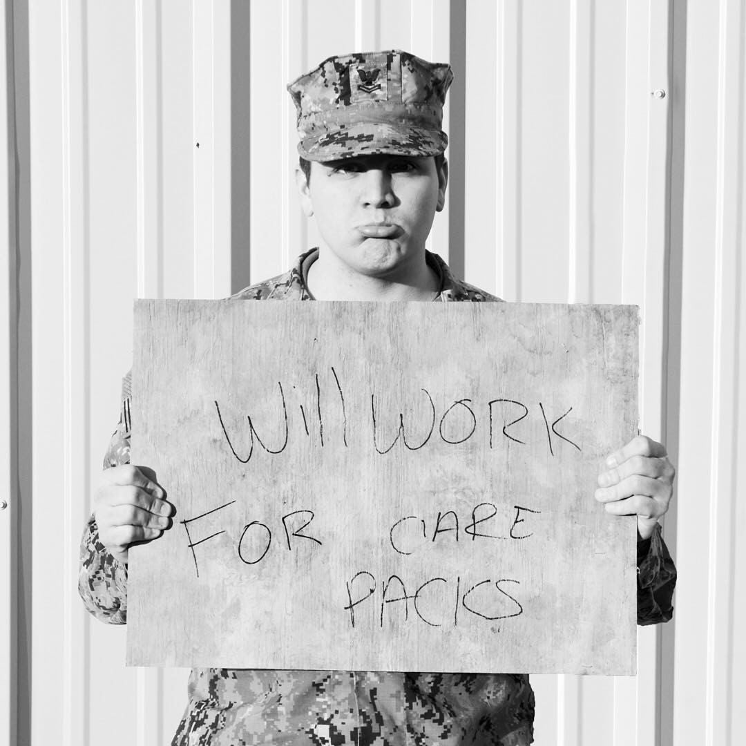 Best Military Charity to send care packages.