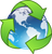 Eco-Friendly Earth Globe Recycle Environmental Awareness