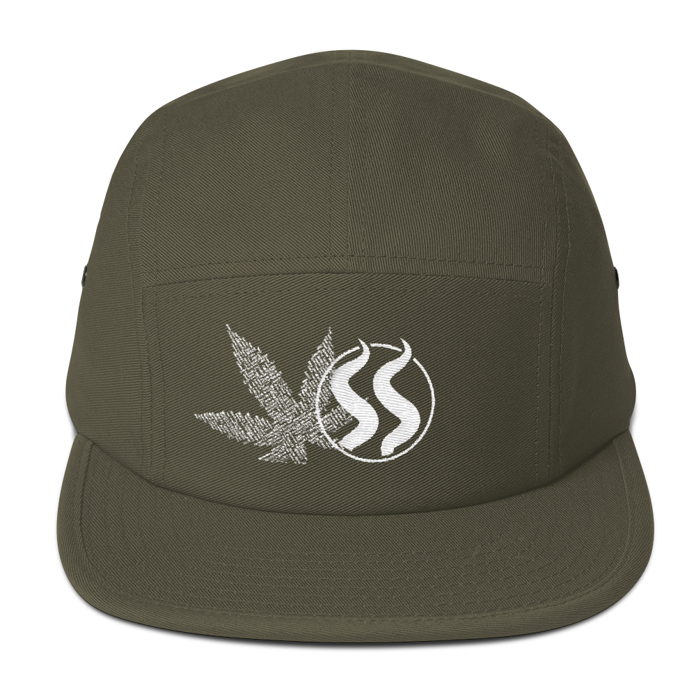 SmokeStash Five Panel Cap - SmokeStash