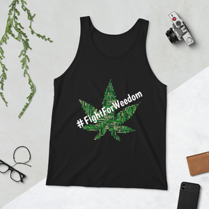 #FightForWeedom Tank - SmokeStash