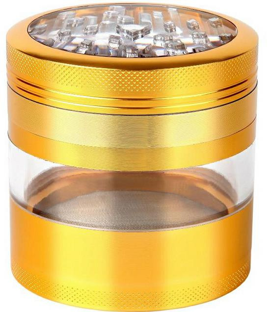 SmokeStash XL 3.0 Herb Grinder w/ Window - SmokeStash
