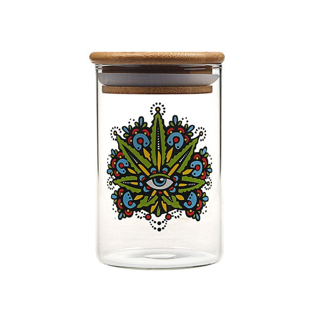 Smokey Eye Smell Proof Stash Jar - SmokeStash