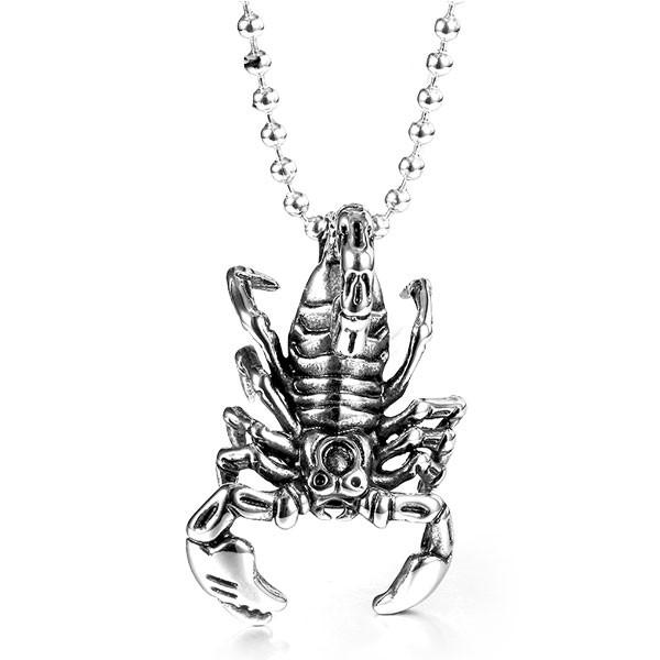 SCORPION PENDANT NECKLACE
