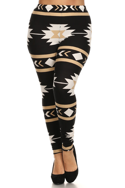 If You Might Be A Little Heavy - Put On Some Plus Size Leggings