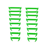 16pcs/lot Elastic Silicone Shoelaces For Shoes Special Shoelace No Tie Shoe Laces