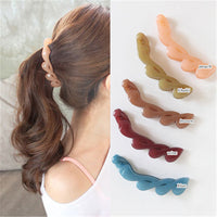 Hair Banana Clip Horsetail Hair Grip Cute Girls Women Hair Headwear Accessories