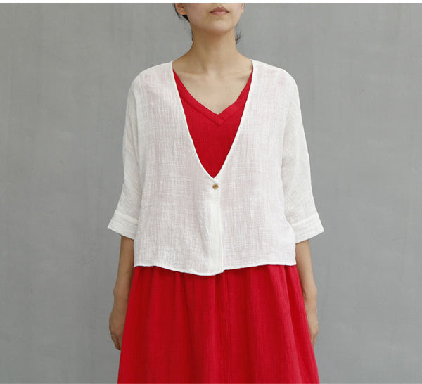Short Cardigans Casual Female Blouses Shirts for Women Sun Protection Kimono Loose Tops