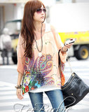 Summer Blouses New Arrival Beach Cover-ups European Style Women's Casual Chiffon Top