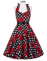 Belle Poque Vintage Dresses 50s 60s Plus Size Clothing Party Robe Vintage Retro Rockabilly