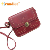 Women Leather Handbag Shoulder Crossbody Bag Tote Purse Summer Slim Mini Fashion