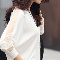 Blusas Camisas Femininas 2018 Bat Sleeve Shirt Women Blouses Vintage Plus Size Clothing