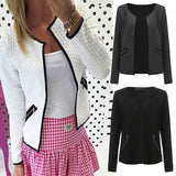 Winter Women Jacket Fashion Plus Size Baseball Jacket Coat Long Sleeve