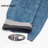 Women Denim Leggings Pants Spring Thin Denim Jeans Fashion Blue Hole Pleated