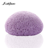 6 Colors Natural Konjac Konnyaku cosmetic puff Facial sponge Face Cleanse