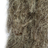 Ghillie Suit CS Camouflage Suits Set 3D Bionic Leaf Hunting Disguise Uniform Sniper Jungle Military Train Hunting Cloth Woodland