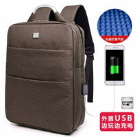 LUYO 15.6 Inch Unisex Laptop Best Anti-theft Usb Charging Travel Backpack