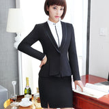 Business suits formal office work pants suits plus size jacket and Trouser