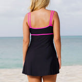 One Piece Swimsuit Swim Skirt Swimwear Plus Size Thong Bathing Suit