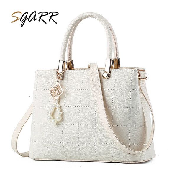 SGARR Luxury Handbags Women PU Leather Shoulder Bag For Female Famous Brands Ladies