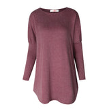 Sweater Tops Women 2017 Autumn Winter Long Sleeve Plus Size Pullovers  Elegant Women  Loose Female Sweater Clothing WS1401Y
