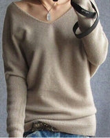 Women Sweaters Autumn Winter Full Sleeve Warm Wool Cashmere Knitted Pullovers