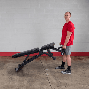 Body-Solid Flat/Decline/Incline Adjustable Bench