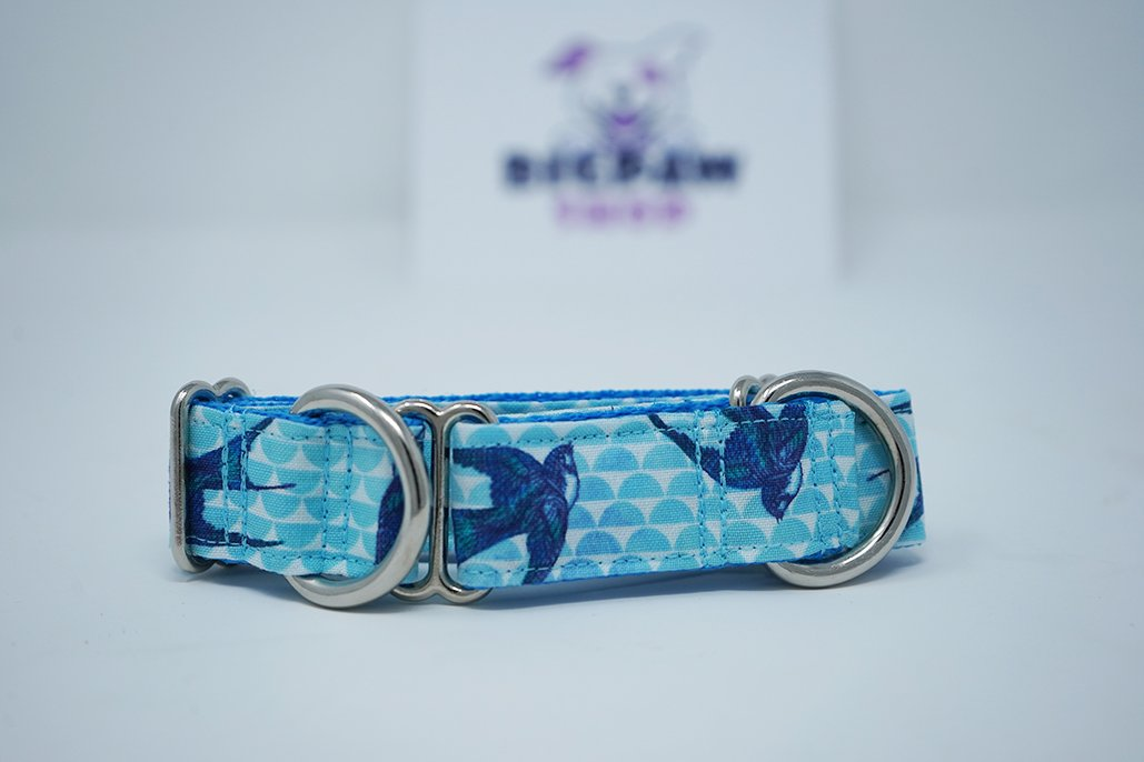 "Sample Sale - Soulful Swallows W: 1"", L: 6-12"" Martingale - BigPawShop"