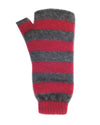 Merino Possum Stripe Fingerless Mitt