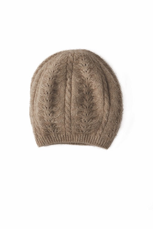 Merino Possum Cable Beanie