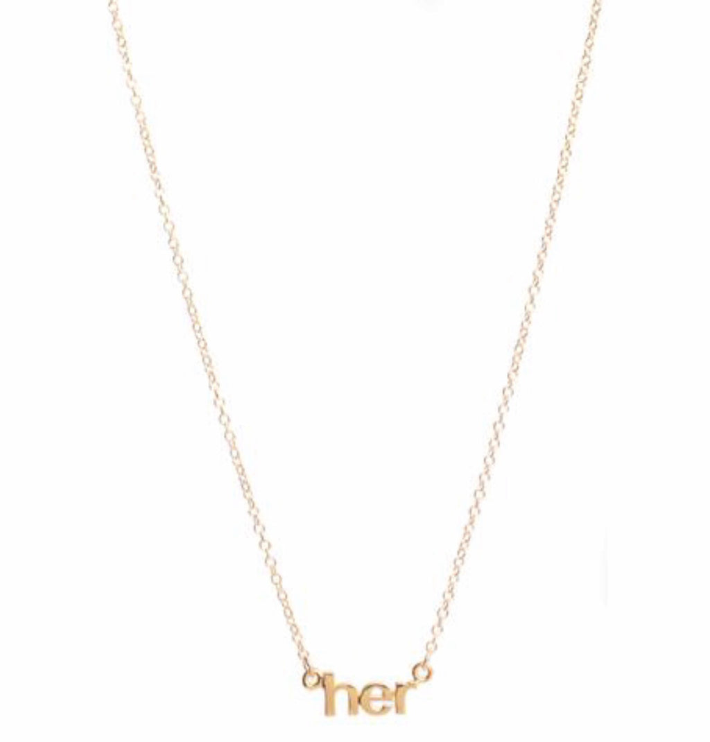 Her Necklace- 2 Colors