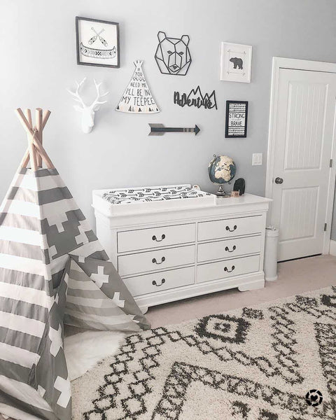 Boys Adventure Themed Bedroom Reveal With A Secret Hideout Our Hammock House
