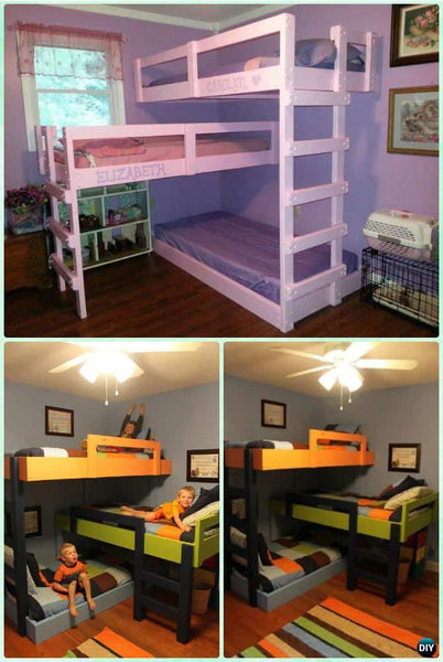 63 Proven Bunk Bed Ideas You Will Absolutely Love Teepeejoy,Dark Wood Bedroom Furniture Sets Uk
