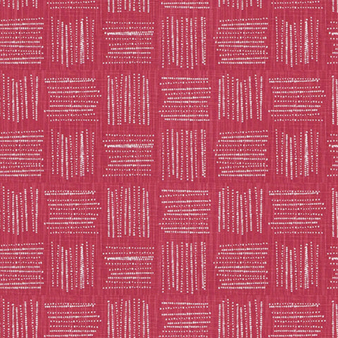 Brave Raspberry Slub Canvas Kids Curtains