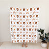 Personalized Woodland Blanket for Babies, Toddlers and Kids - Wild Ones