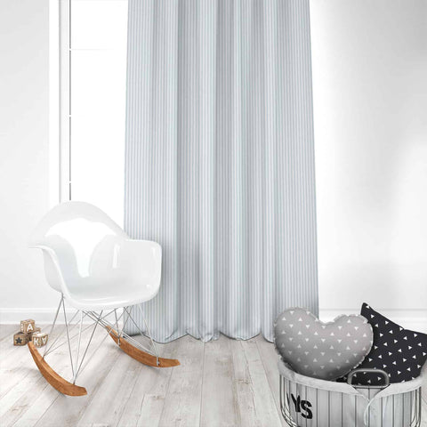 Classic Weathered Blue Kids Curtains
