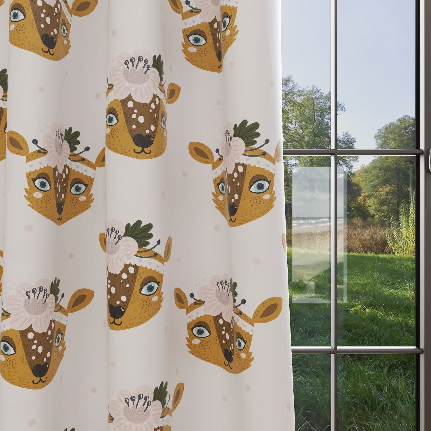 Kids & Nursery Blackout Curtains - Deer To Me