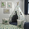 Kids Teepee, Dinosaur Decor Themed Room - A Roar Party Collection